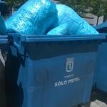 basura en el ayuntamiento