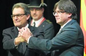 Artur Mas y Puigdemont