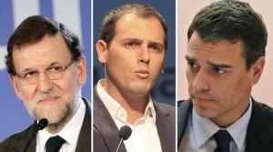 Rajoy_Rivera_Sánchez