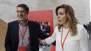 Susana Díaz y Patxi López