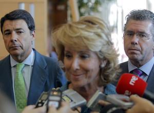Aguirre, Granados e Ignacio Gonzalez