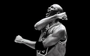 Michael Jordan en éxtasis
