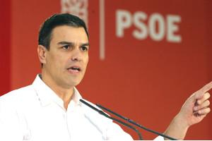 Pedro Sánchez frente al espejo