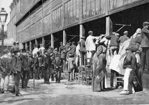 trabajadores en siglo XIX