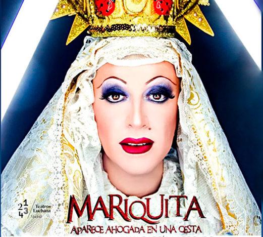Mariquita aparece ahogada en una cesta, crítica teatral