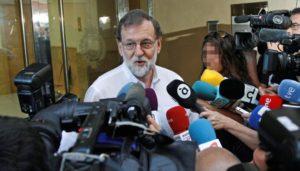 Rajoy, el registrador