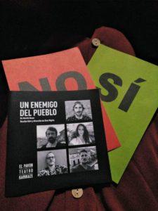 Un enemigo del pueblo (Ágora), crítica teatral