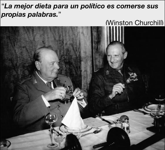 La mejor dieta para un político