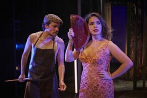 La señora y la criada, crítica teatral