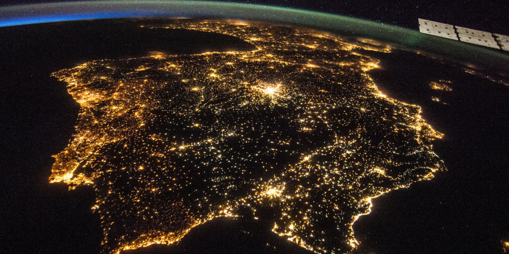 España_desde satélite