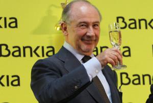 Rato brinda por OPS Bankia