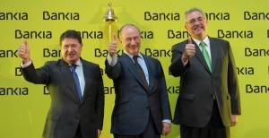 Rato celebrando la OPS Bankia