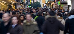 gente por la calle