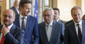 Tusk, Juncker_Schulz_Dijsselbloem_Draghi