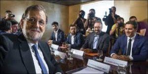 Rajoy en pacto con Ciudadanos
