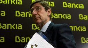 Goirigolzarri, juez y parte sobre la no devolución del rescate de Bankia