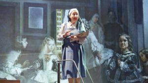 La autora de Las Meninas, crítica teatral