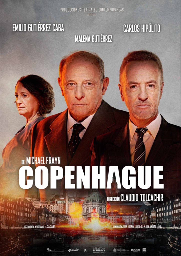 Copenhague, crítica teatral