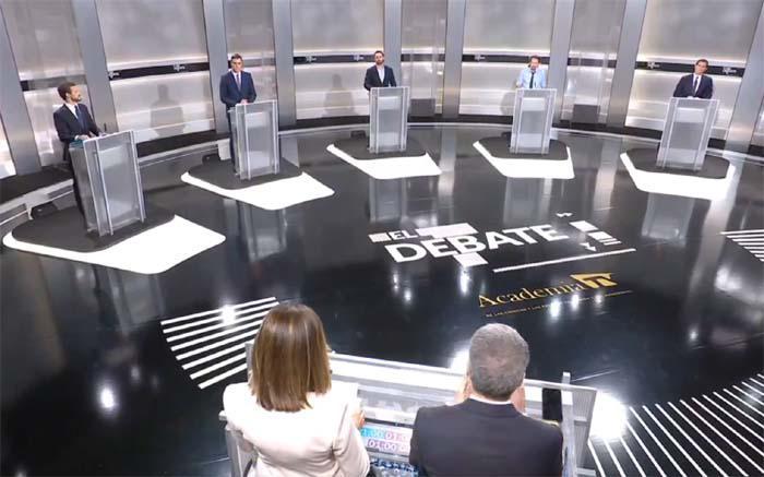 Erre que erre en el #DebateA5