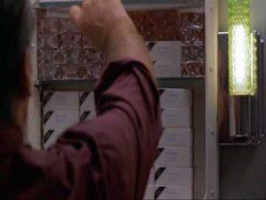 """Jack Nicholson en el personaje de 'Melvin' en """"Mejor imposible"""""""
