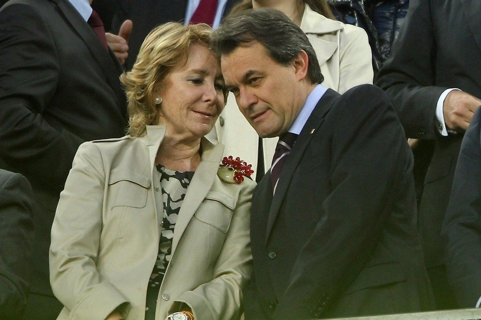 Esperanza Aguirre y Artur Mas