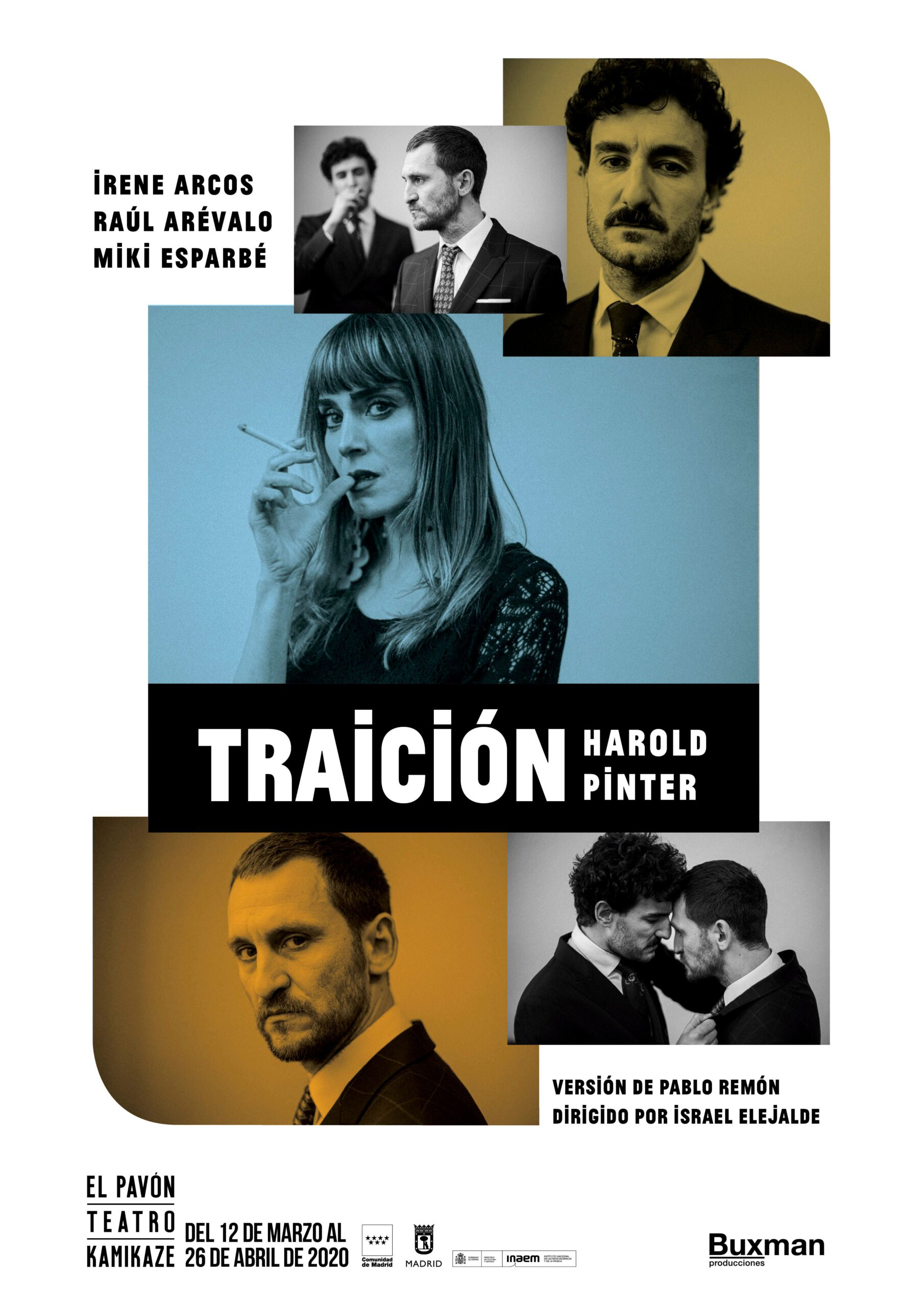 Traición, crítica teatral