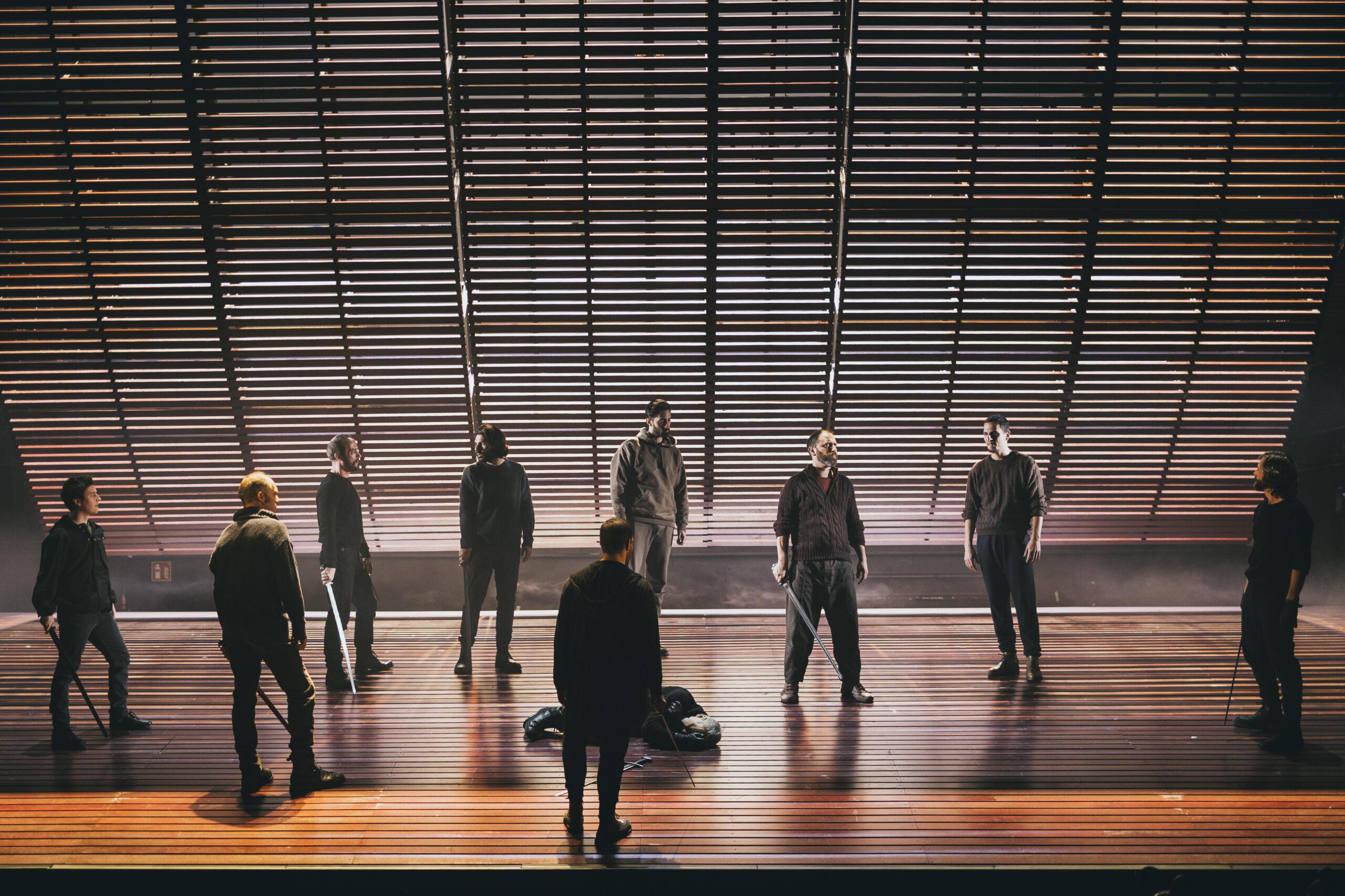 escenografía de Macbeth