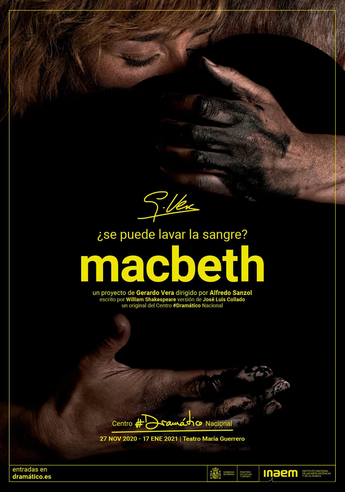 cartel de Macbeth