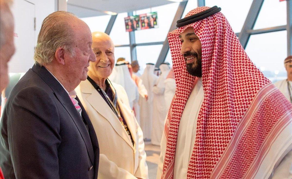 Juan Carlos de Borbón en Emiratos Arabes Unidos