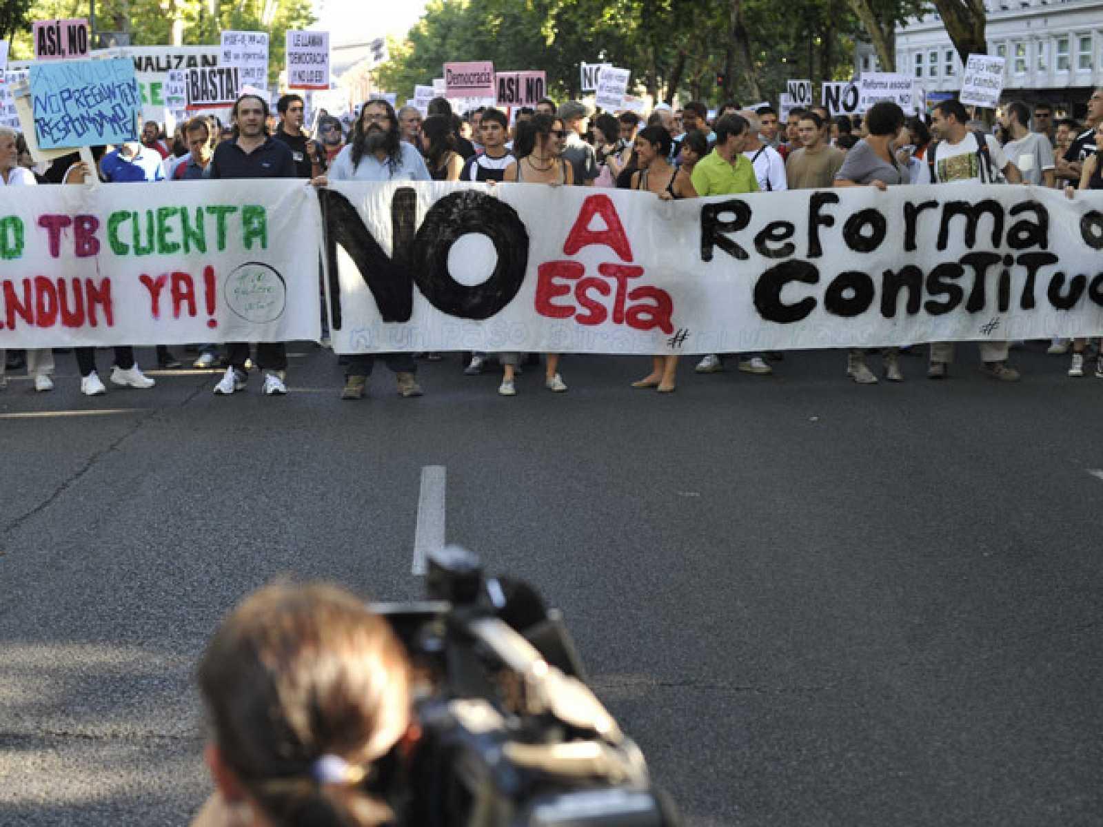 Protestas por la Reforma Constitucional del articulo 135