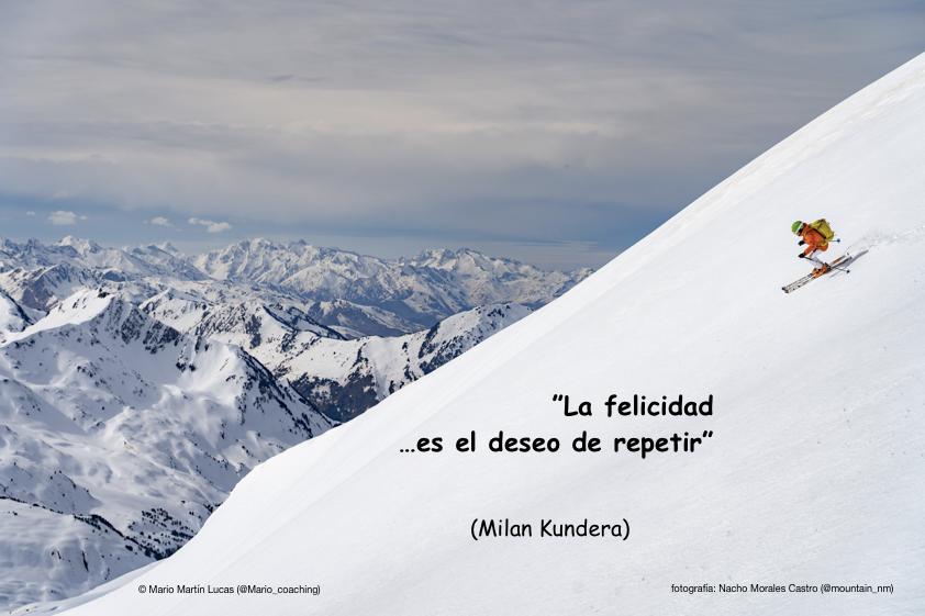 La felicidad, según Kundera