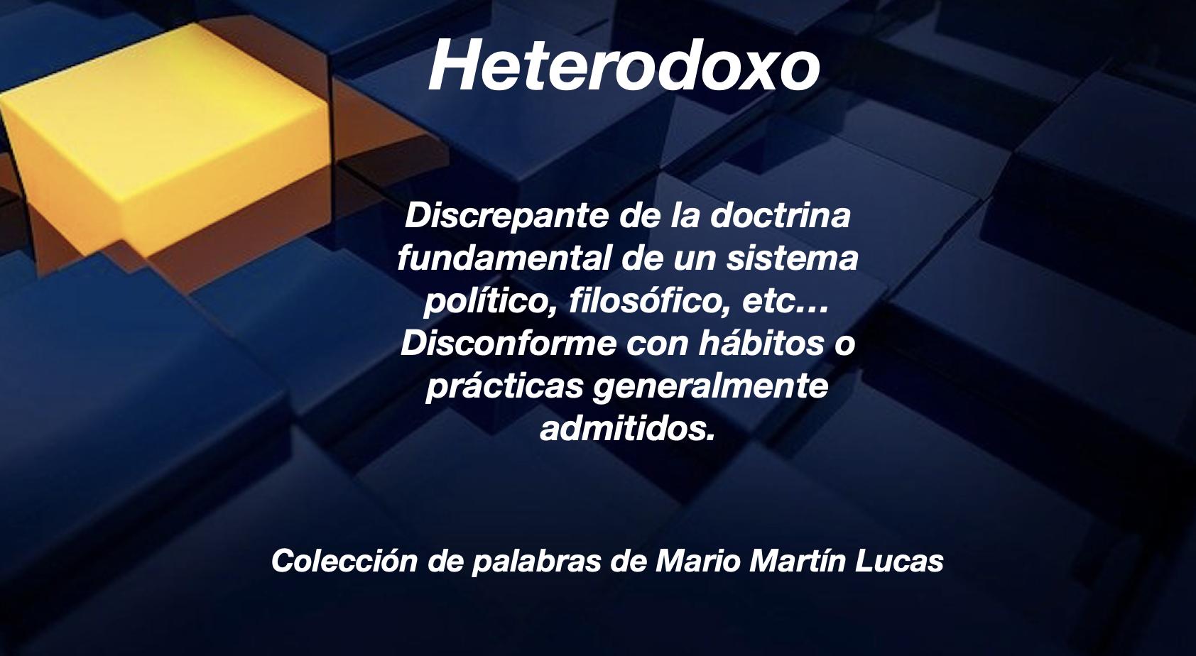 Heterodoxo