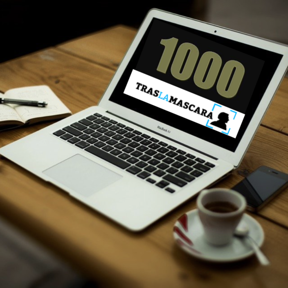 Publicación 1.000 en Traslamascara.com